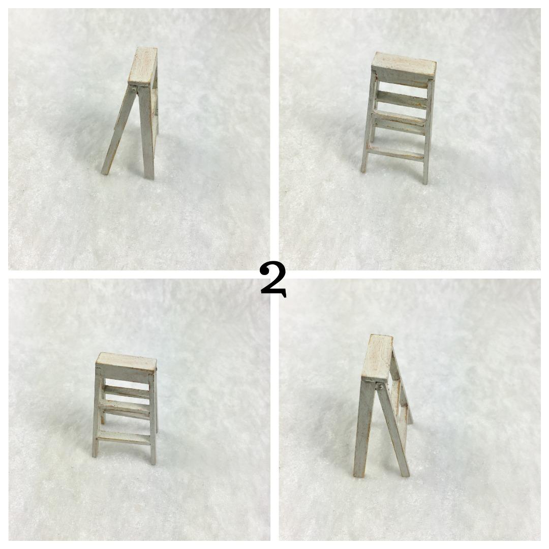 Kleine Leiter in Miniatur 1zu12 2