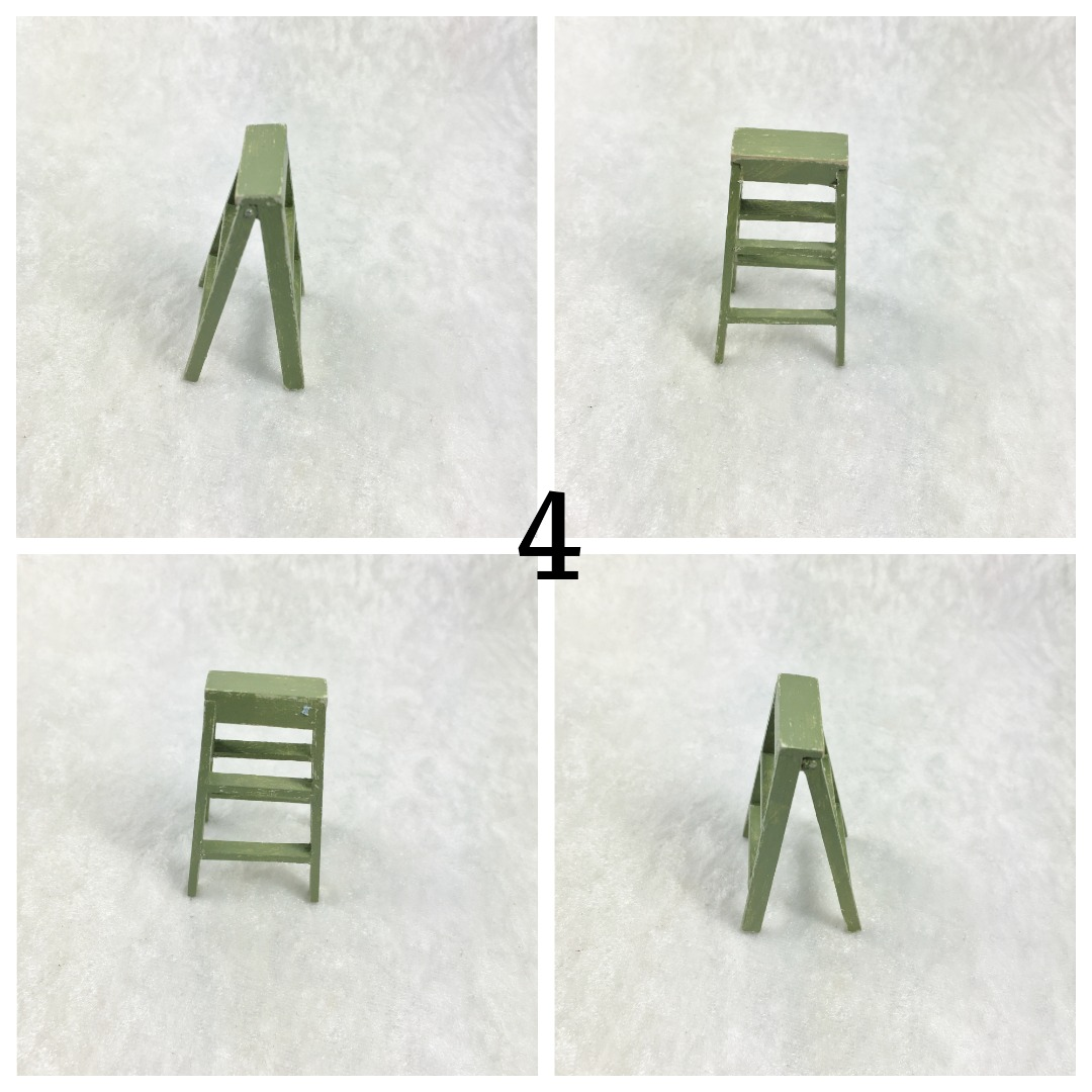 Kleine Leiter in Miniatur 1zu12 4