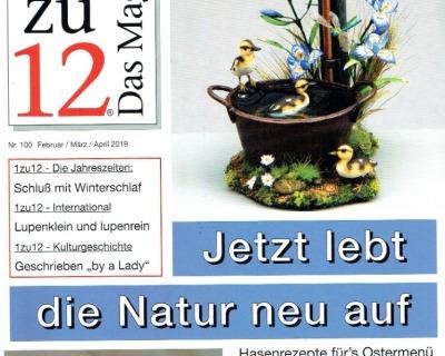 Nr 1zu12 Das Magazin Februar März