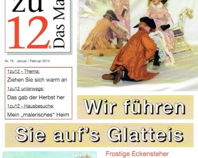 Nr 75- 1zu12 Das Magazin Janaur