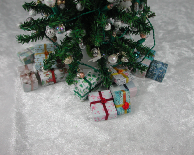 Geschenke unterm Tannenbaum Weihnachtsbaum für die