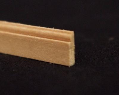 Leiste cm Holzleiste Holz natur unbehandelt