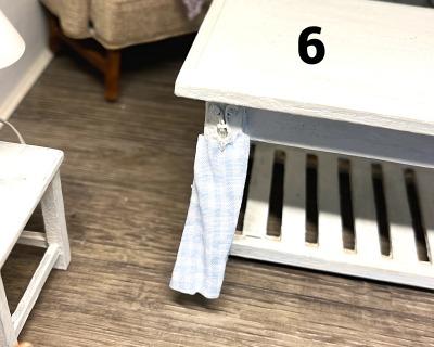 Miniatur Setzkasten im Vintage Stil Weihnachtsmotive