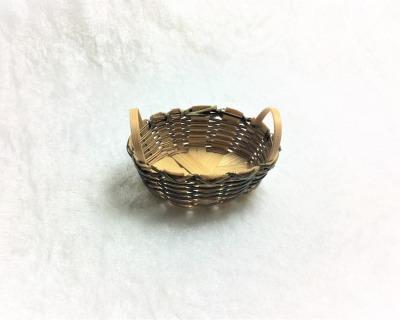 Waschkorb braun oval cm Deko für
