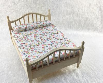 Doppelbett Ehebett für die Puppenstube das