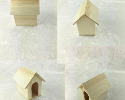 Hundehütte für die Puppenstube das Puppenhaus