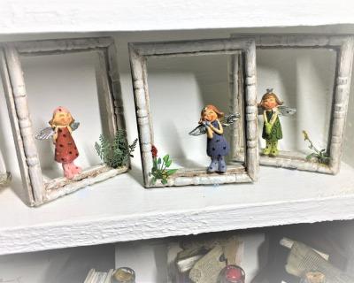 Engel im Rahmen cm in Miniatur