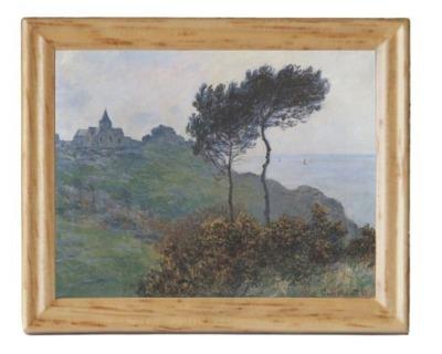 Gemäldekopie Varengille im Holzrahmen cm für
