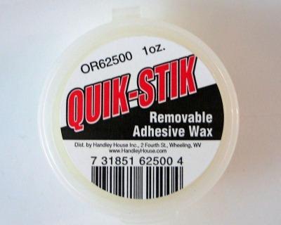 Tacky Wax Quik Stik für die