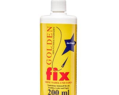 Golden Fix Textilkleber Der flüssige Nähfaden