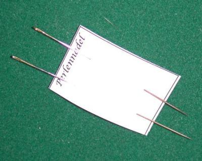 Perlnadel für die Handarbeit in Miniatur