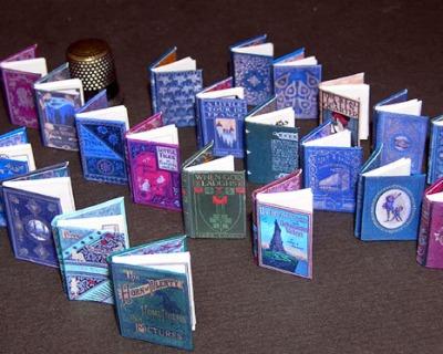 Collektion Antike Bücher Paperminis Bastelkit aus