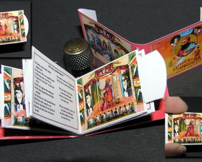 Spielbuch Blue Beard Pantomine Paperminis Bastelkit