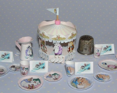 Beatrix Potter Motto Party Baby Bastelkit