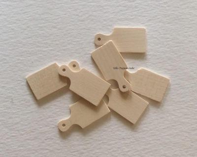 Holzbrett Vesperbrett für die Puppenstube das