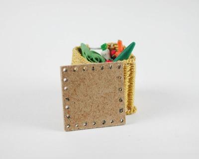 Brettchen ca cm für Gemüsekorb Flaschenkorb