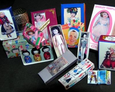 Puppenschachtel Collection Bastelkit aus Papier in
