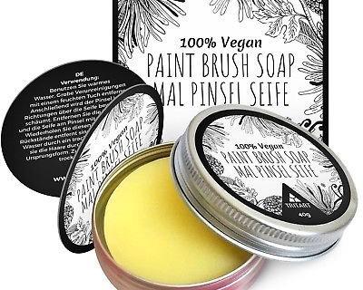 Seife Künstlerseife zur Farbpinsel Reinigung für