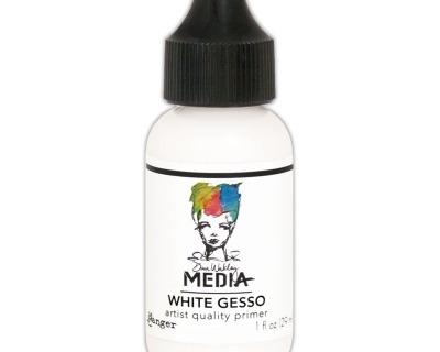 Media White Gesso Grundierung für die