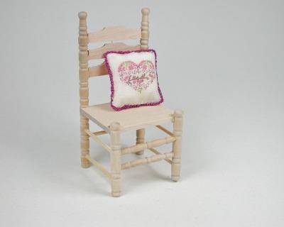 Stuhl Stück für die Puppenstube das