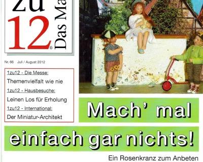 66- 1zu12 Das Magazin die Zeitschrift
