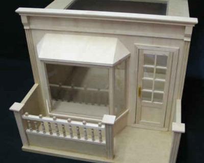 Laden Vitrine Shop Showcase Bausatz für