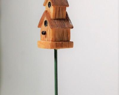 Vogelhaus für die Puppenstube das Puppenhaus