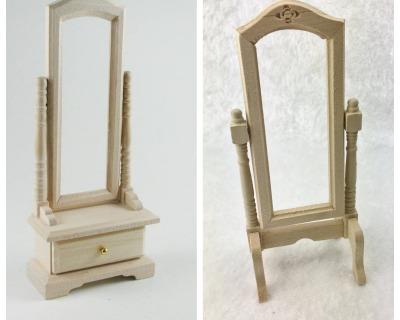 Standspiegel für die Puppenstube das Puppenhaus