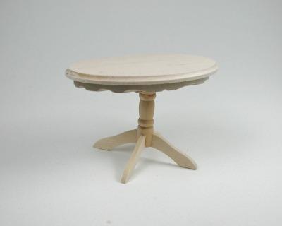 Tisch Oval 1:12 Miniatur