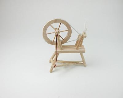 Spinnradl für die Puppenstube