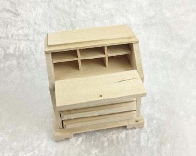 Sekretär Schreibkommode Schreibpult für die Puppenstube