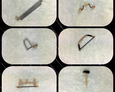 Werkzeug Hobel Laubsäge Hammer Baumsäge Rahmensäge