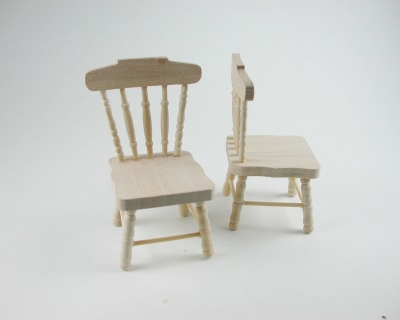 Stuhl Küchenstuhl für die Puppenstube das
