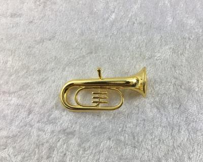 Musikinstrumente Blasinstrumente für die Puppenstube Trompete