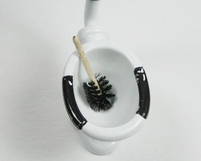 Toilettenbürste Klobürste WC Bürste in 1:12