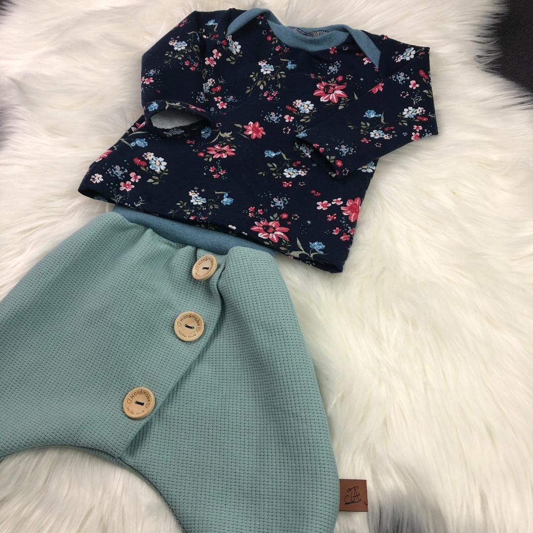 Sofortkauf Handmade Set Pumphose Shirt Gr