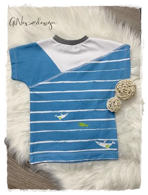 Sofortkauf Handmade T-Shirt Ahoi Gr von
