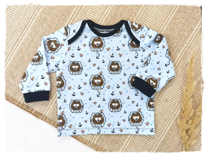 Sofortkauf Handmade Langarmshirt Gr 68