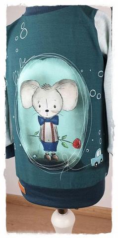 Sofortkauf Handmade Langarmshirt Gr 80