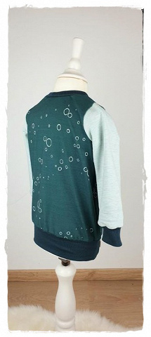 Sofortkauf Handmade Langarmshirt Gr 80 2