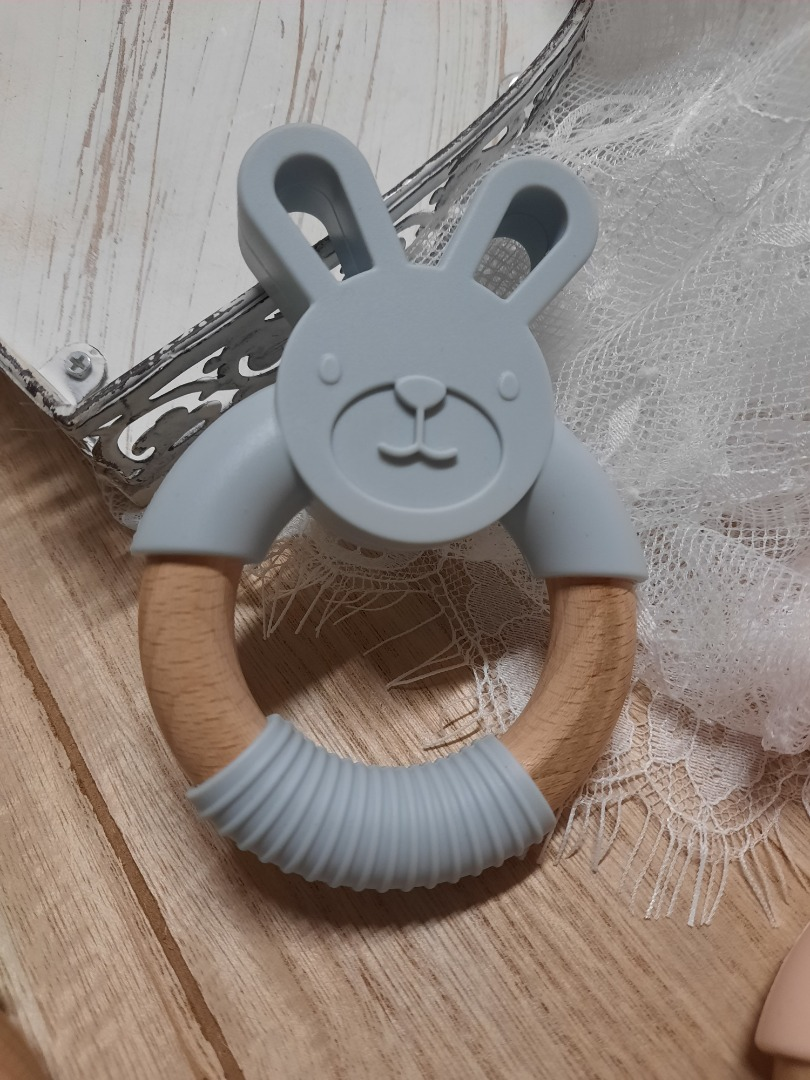 Bestellung Handmade Greifling Hase mit Name