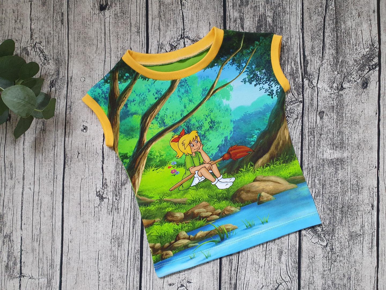 Sofortkauf Handmade Shirt Bibi Blocksberg Gr