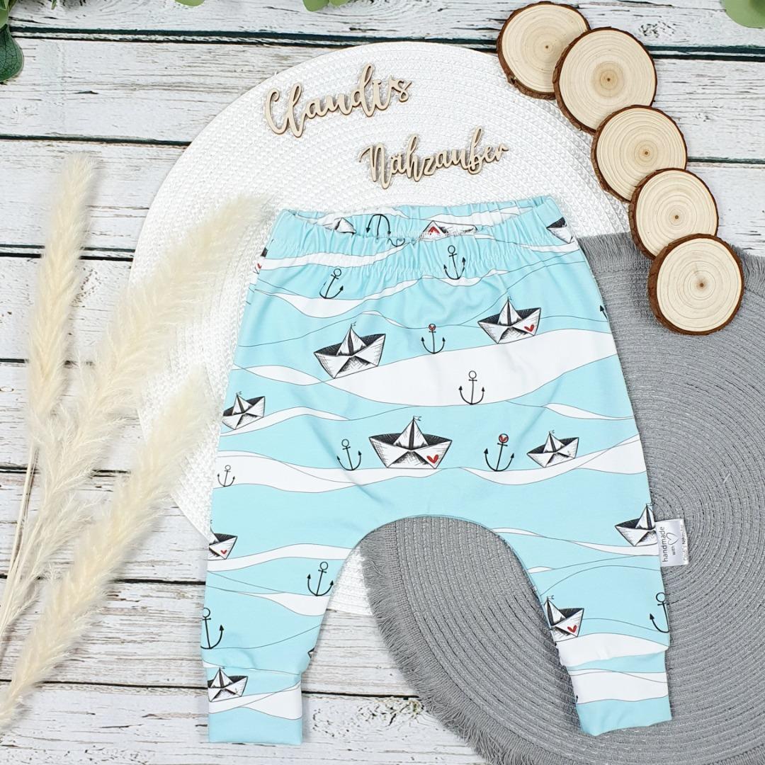 Sofortkauf Handmade Ahoi SlimHarem-Pants Gr 62/68