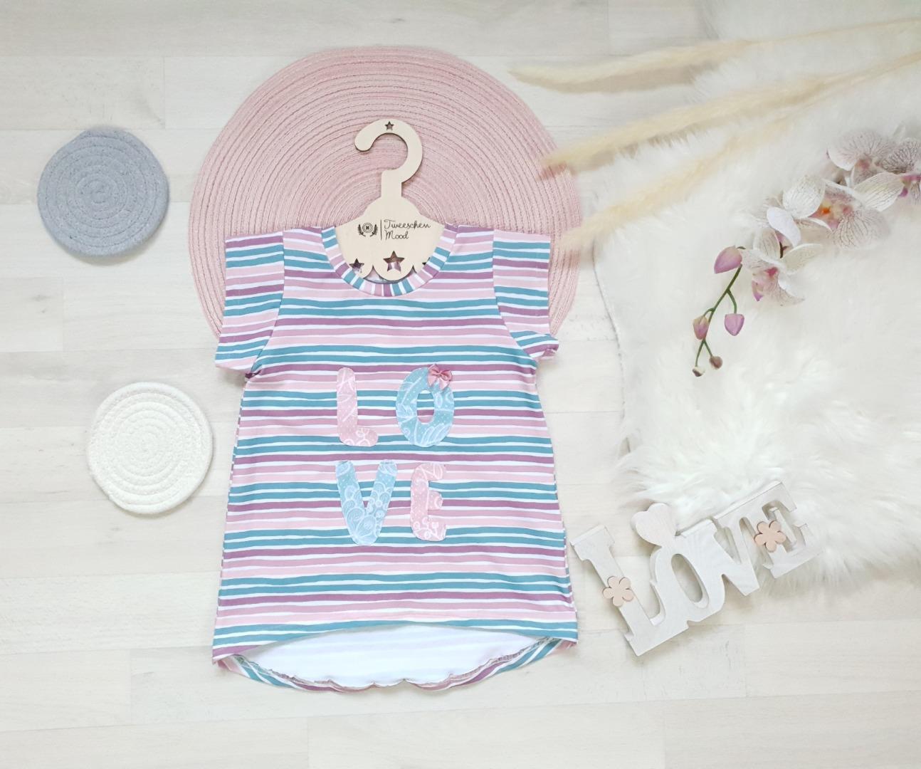 Sofortkauf Handmade Cutieshirt LOVE Gr Tweeschen