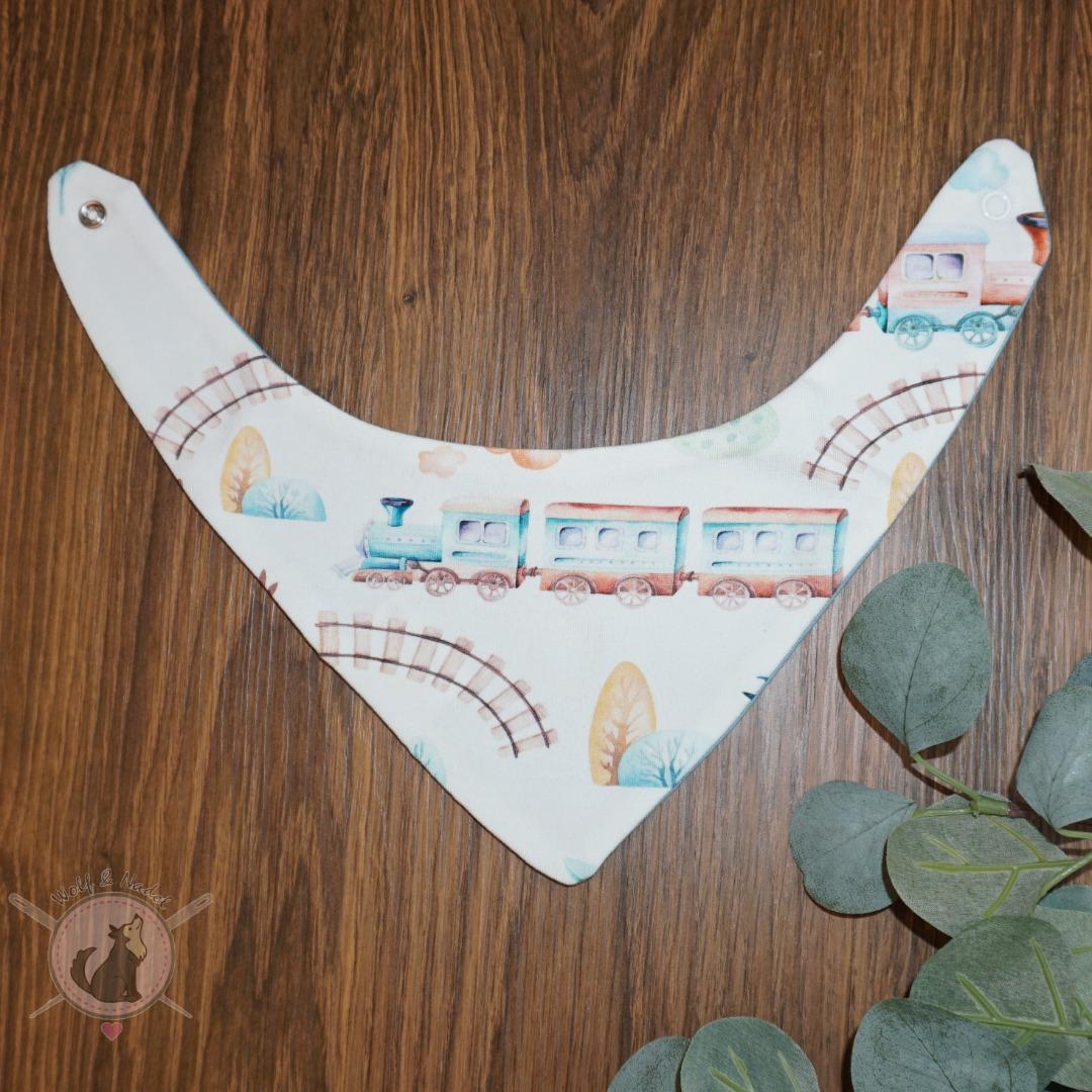 Sofortkauf Handmade Halstuch 3-6 Monate Zug