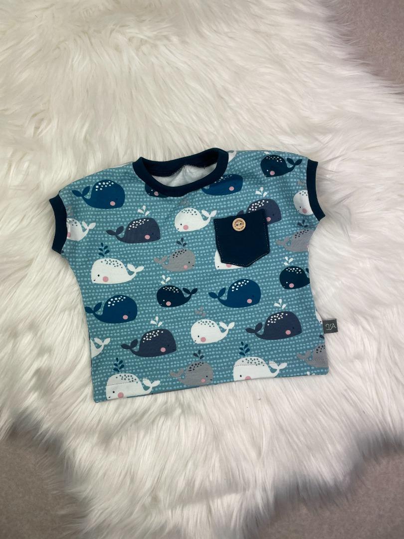 Bestellung Handmade Oversize-Shirt aus Biojersey Babywale