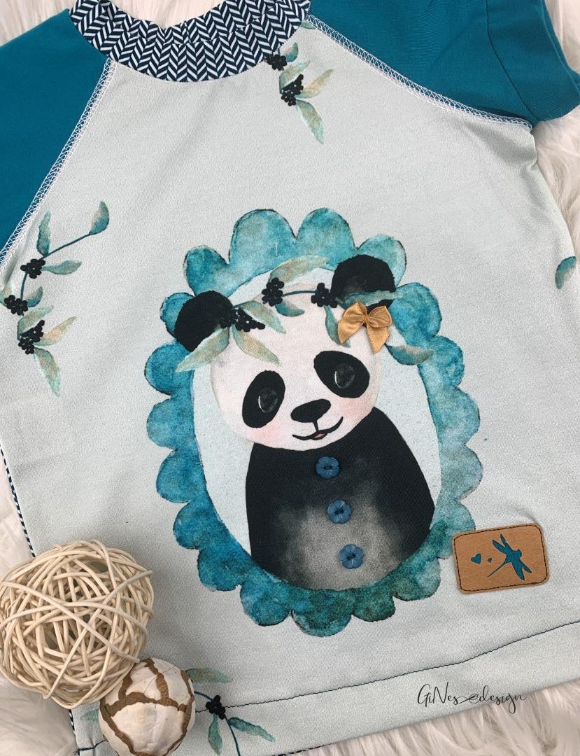 Sofortkauf Handmade Raglanshirt Gr GiNes Design