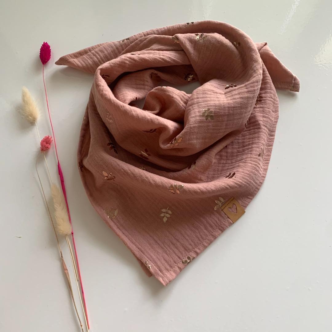 Sofortkauf Handmade Goldene Zweige auf Rosa