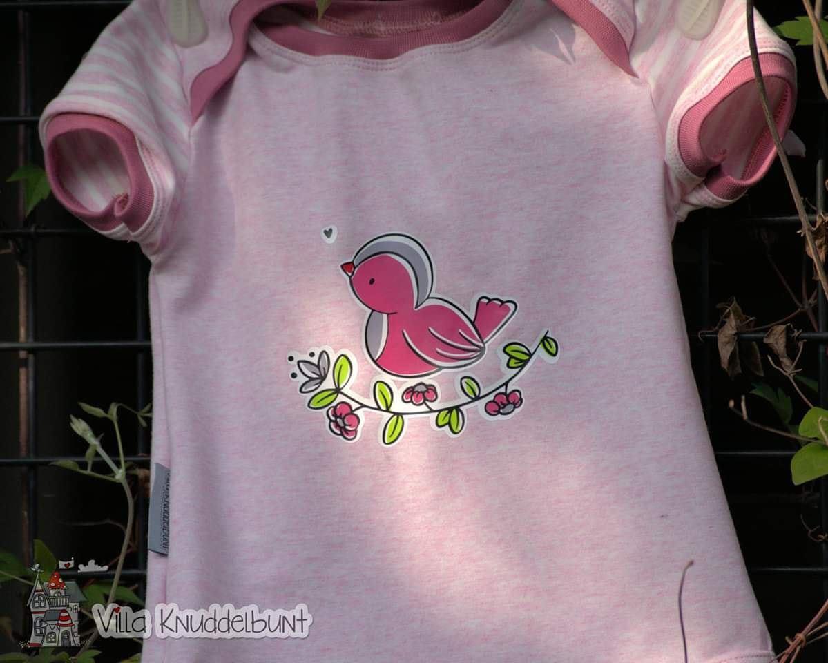 Sofortkauf Handmade Sommer T-Shirt Vögelchen für