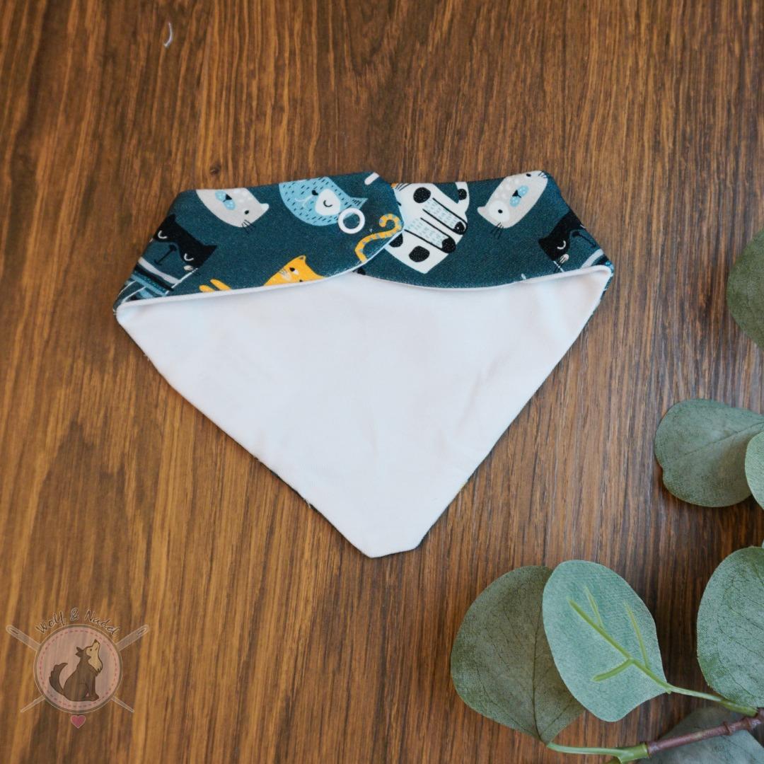 Sofortkauf Handmade Halstuch 0-3 Monate Milky